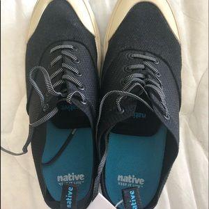 Native Jefferson Plimsol Onyx Shoes